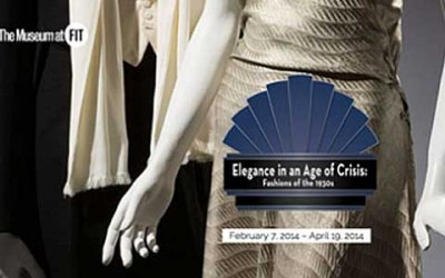 Elegance in an Age of Crisis, an exhibition at The Museum at FIT, in New York